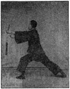 《昆吾劍譜》 李凌霄 (1935) - posture 52