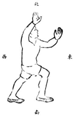 《武當嫡派太極拳術》 李壽籛 (1944) - drawing 38