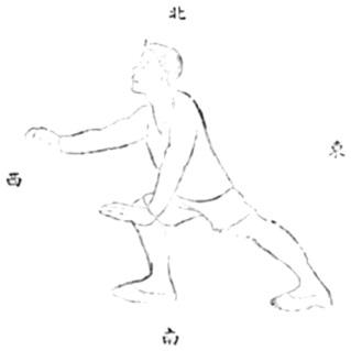 《武當嫡派太極拳術》 李壽籛 (1944) - drawing 45