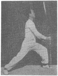 《太極劍》 尹千合 (1958) - posture 56